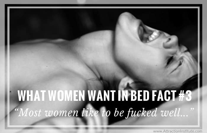 women want to be fucked well